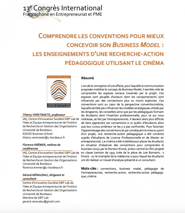 jpg communication cinema business model